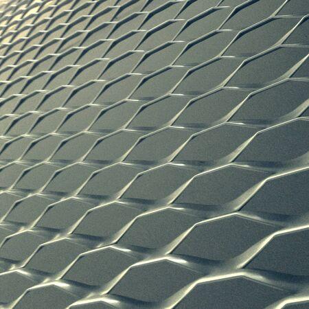 aluminium: Aluminium mesh facade