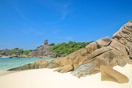 phangnga: Tropical beach at Similan island, Phang-nga, Thailand