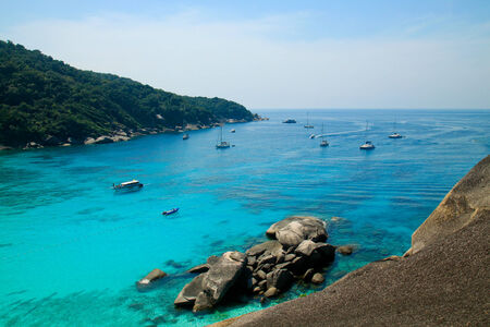 phangnga: Tropical sea at Similan island, Phang-nga, Thailand