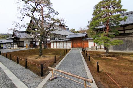 rokuonji: Traditional building at Kinkakuji Temple in Kyoto, Japan Editorial