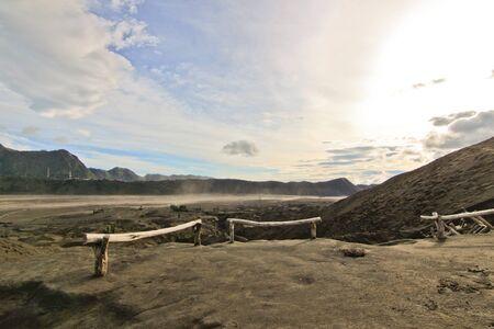 tengger: Desert landscape at Tengger Semeru National Park, Java Island, Indonesia