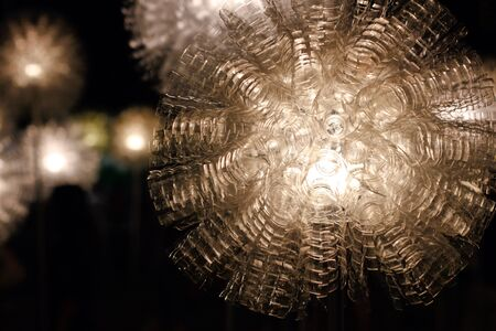 creative: Lighting  recycle form plastic bottle