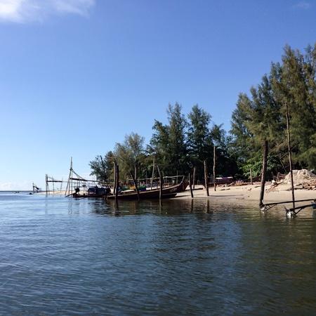 trang: Libong Islang ,Trang ,Thailand Stock Photo
