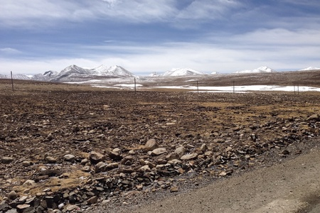 view: Landscape view in Tibet