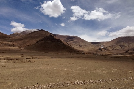 tibet: Landscape view in Tibet