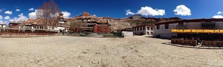 monastery: The palcho monastery and kumbum Stock Photo