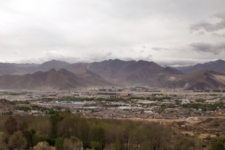 urban: Western suburb of Lhasa