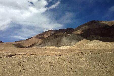 tibet: Landscape view roadside in Tibet