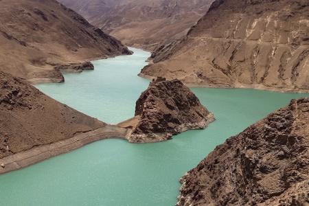 tibet: River in Tibet Stock Photo