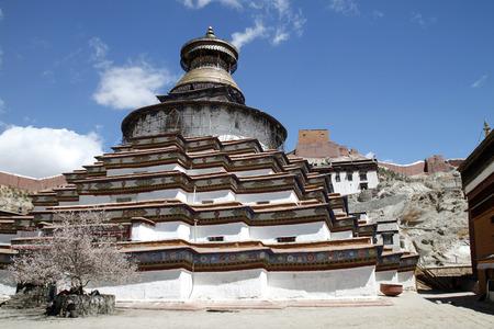Kumbum stupa Stock Photo