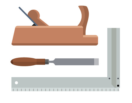 angle bar: Joiner tools planer chisel and angle bar.