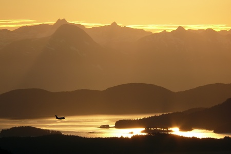 The City and Borough of Juneau is a unified municipality located on the Gastineau Channel in the panhandle of the U.S. state of Alaska. Stock Photo - 9741840