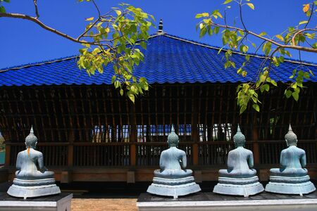 Buddhist Temple Innenstadt Colombo, Sri Lanka Standard-Bild - 10394381