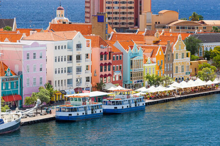 curacao: Beautiful downtown Willemstad, Curacao