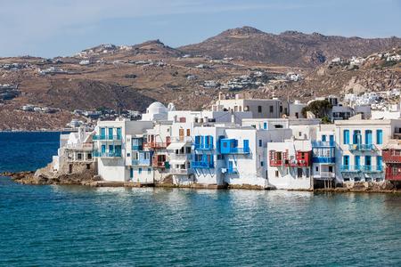 mykonos: Mykonos houses, Greece