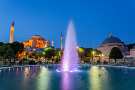 Hagia Sofia, Istanbul Turkey photo