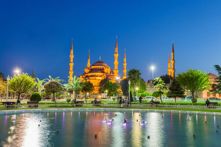 blue mosque: Blue Mosque, Istanbul Turkey