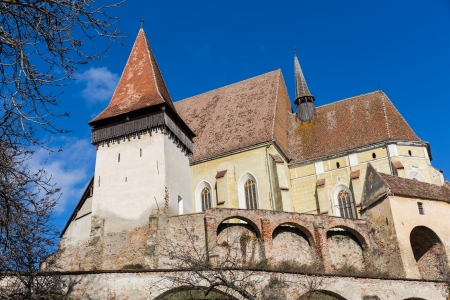 Biertan s fortified church in Transylvania