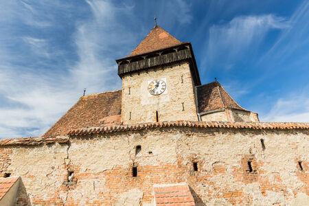 transylvania: Axente Sever, Transylvania Romania Stock Photo
