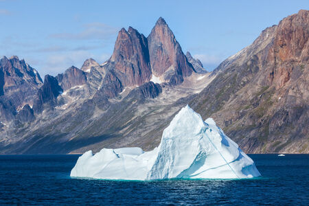iceberg: Iceberg in the Prince Christian Sound, Greenland