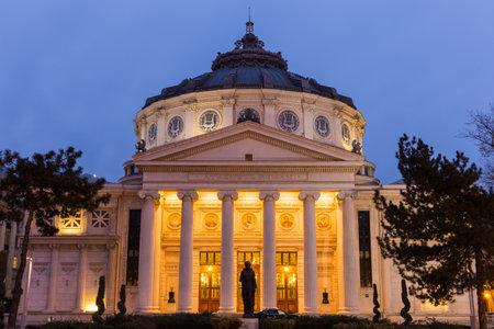 neoclassic: Romanian Athenaeum, Bucharest s most prestigious concert hall