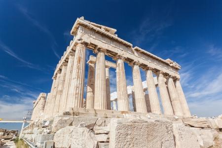 Parthenon, Athen, Griechenland Standard-Bild - 25151063