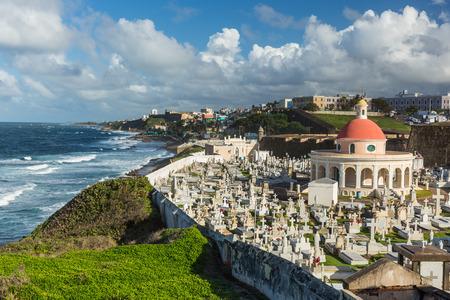 san juan: The Cemetery Santa Maria Magdalena, San Juan Puerto Rico