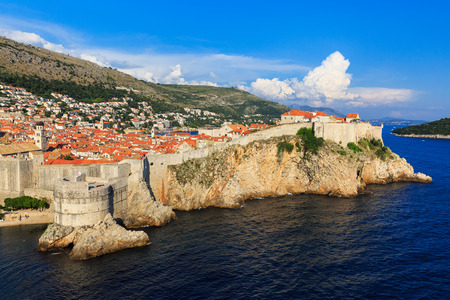 croatia dubrovnik: The Walls of Dubrovnik, Croatia