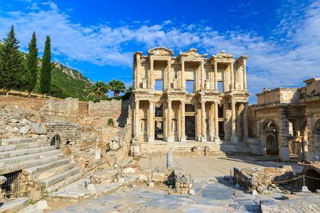 Celsus Bibliothek, Ephesus Türkei Standard-Bild - 32211292