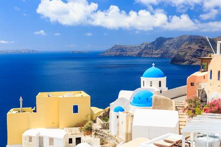 Oia village, Santorini Greece photo