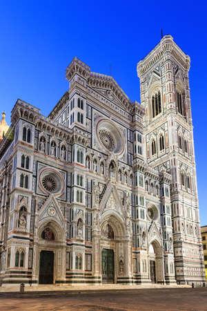 Cathedral Santa Maria Del Fiore and Giotto\ photo