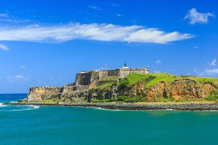 El Castillo del Morro en San Juan, Puerto Rico Foto de archivo - 34267201