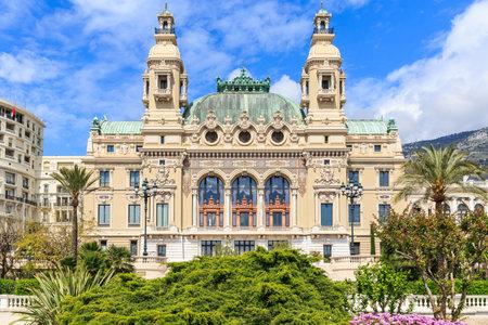 garnier: Salle Garnier the Opera house of Monte-Carlo
