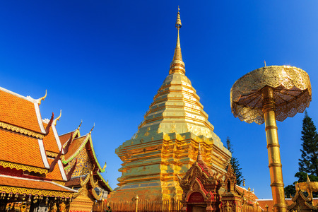 doi: Wat Doi Suthep, Chiang Mai province. Thailand Stock Photo