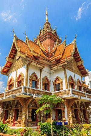 Wat Buppharam ein Lanna Tempel in Chiang Mai, Thailand Standard-Bild - 38507483