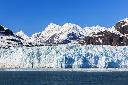 Margerie Glacier in Glacier Bay National Park, Alaska Foto de archivo