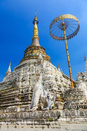 fang: Pagoda at Wat San Fang an ancient temple in Chiang Mai, Thailand