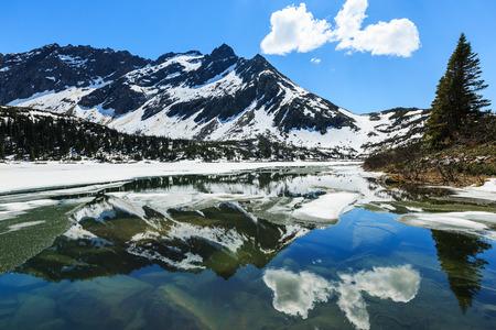 dewey: Upper Dewey lake, Skagway. Alaska Stock Photo