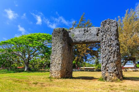 Haamonga a Maui in Nukualofa, Kingdom of Tonga