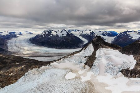 Skagway, Alaska. Meade Glacier, Tongass National Forest.