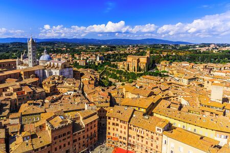 siena italy: Siena, Italy Stock Photo