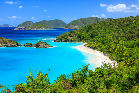 Karibik, Trunk Bay auf St. John Insel, US Virgin Islands