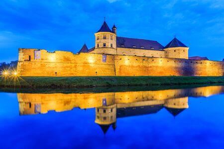 Fagaras,Transylvania,Romania. Medieval fortress.