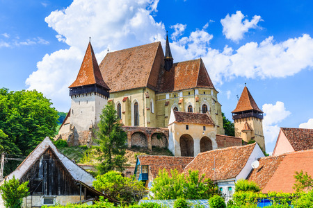biertan: Biertan, Romania. Saxon village with the fortified church in Transylvania.