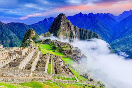 Machu Picchu, Peru. Jeden z nowych siedmiu cudów świata