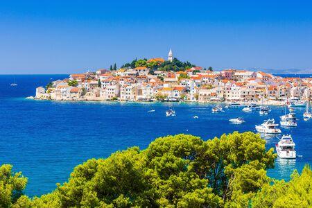 Primosten, Sibenik Knin County, Croatia. Resort town on the Adriatic coast. 写真素材