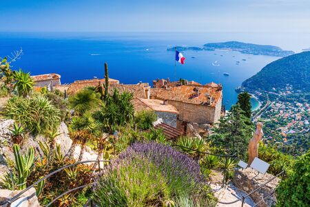 French Riviera. The Medieval Village of Eze.