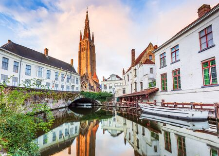 Bruges, Belgium. The Church of Our Lady.