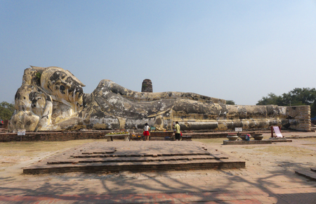 Statue of Buddha in ayuddhaya Thailand