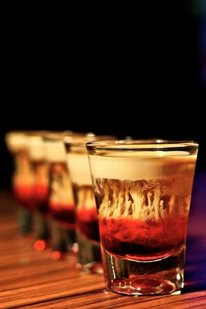 hemorragia: Bebidas hemorragia cerebral Foto de archivo